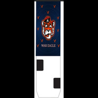 Auburn University Inspired Custom Nike Elite Socks