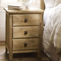 Mason Bedside Table - Wax Pine finish