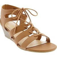 Women's Gladiator Wedge-Sandals