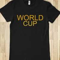 WORLD CUP JUNIORS FITTED TEE