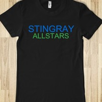 STINGRAY ALLSTARS JUNIORS FITTED TEE