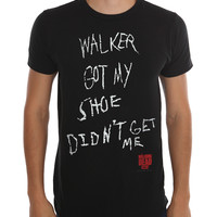 The Walking Dead Didnt Get Me Slim-Fit T-Shirt