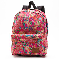Vans Multi Floral Deana Backpack (True White)