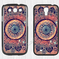 Mandala Samsung Galaxy S3 S4 Case,Mandala pattern Galaxy S3 S4 Hard Rubber Case,Minority Totem cover skin Case for Galaxy S3 S4,More styles