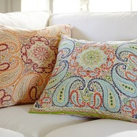 LIA PAISLEY PILLOW COVER