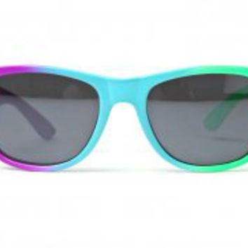 80's collection - starburst colored wayfarer sunglasses (more colors) - 80's | 80's Purple