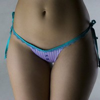 Bow tie thong by roufe on Etsy