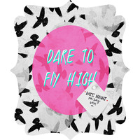 Elisabeth Fredriksson Dare To Fly High Quatrefoil Magnet Board