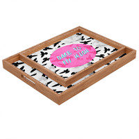 Elisabeth Fredriksson Dare To Fly High Rectangular Tray