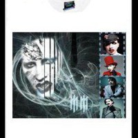 MARILYN MANSON CUSTOM PHOTO T-SHIRT TEE goth punk 525 on eBay!