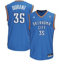 adidas Kevin Durant Oklahoma City Thunder Revolution 30 Performance Jersey - Royal Blue