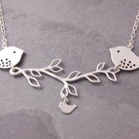 Mothers Necklace, 1 to 11 kids, silver, family necklace, new mom necklace, twins, triplets, mother necklace, mom necklace, mothers day, N4-1