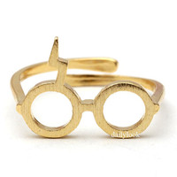 harry potter ring, in gold