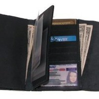 Deluxe Top Stub Checkbook Clutch by CTM