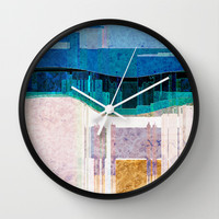 CITYSCAPE Wall Clock by Catspaws
