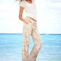 The Beach Pant in Linen - Victoria&#x27;s Secret