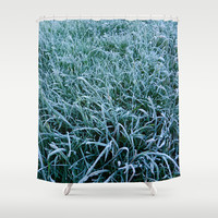 Frosty Morning Shower Curtain by Alice Gosling
