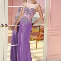 Alyce 6232 Beaded Illusion Dress