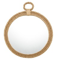 Threshold™ Round Rope Mirror