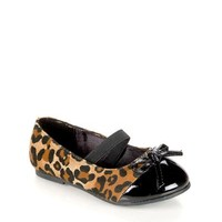 Jelly Beans Girl's Animal Print Flats