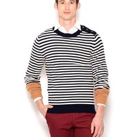 Tommy Hilfiger Striped Cashmere Sweater- Made in Italy