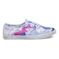 Marble Authentic Lo Pro | Shop New Summer Prints at Vans