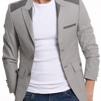 ModaForMen Two-tone Blazer Made In Europe