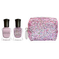 Deborah Lippmann Two of Hearts - Mini Duet in Candy Shop Glitter Bag