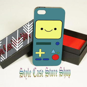 Adventure time bmo , iP4,iP5,iP5S,iP5C,SamsungS3,S4,S3,S4mini,iPod4/5,HTC One/OneX,BBZ10/Q10.
