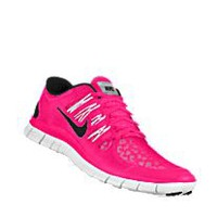 Nike Free 5.0 Shield iD Custom Women's Running Shoes - Pink