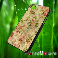 Floral Pattern/MISSUMORE,Accessories,CellPhone,Cover Phone,Soft Rubber,Hard Plastic,Soft Case,Hard Case,Samsung Galaxy ,iPhone/19aug15