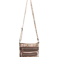 Southwestern Print Crossbody Bag | Wet Seal