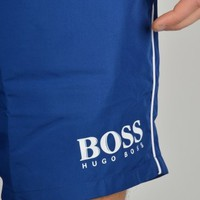 Hugo Boss Green Starfish Swim Shorts - Blue