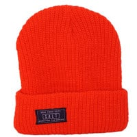 Salt Surf - Neon Orange Beanie
