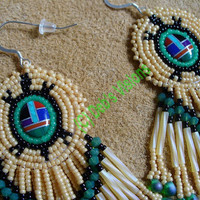 Turtle Ulinawiin Tslagagi Earrings by DebsVisions on Etsy