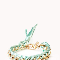 Sweet Side Curb Chain Bracelet