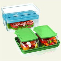 Fit %26 Fresh On the Go Lunch Container Set