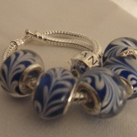 Murano glass Bead for Bracelet | asterling - Jewelry on ArtFire
