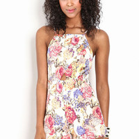 SWEET BLOOM CUT OUT ROMPER