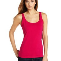 Ak Anne Klein Women's Basic Scoop Neck Tank