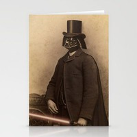 Lord Vader Stationery Cards by Terry Fan | Society6