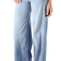 Blank Denim Mid Rise Wide Leg Jeans | SHOPBOP