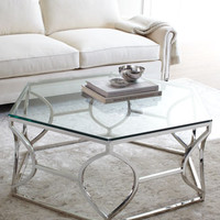Bernhardt Aiden Acrylic Side Table