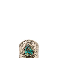 Vanessa Mooney Empress Ring in Turquoise from REVOLVEclothing.com