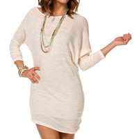 Oatmeal Off The Shoulder Tunic