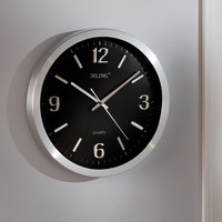 Live Video Feed Surveillance Clock