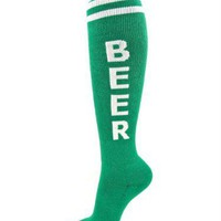 Green Beer Unisex Socks