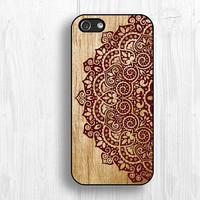 Mandala floral iPhone case, IPhone 5S case,IPhone 5c case,IPhone 5 case,IPhone 4 case,IPhone 4s case,Christmas gift,personalized-covers