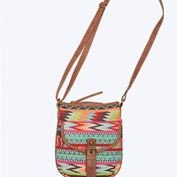 Aztec Chevron Crossbody