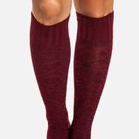 DailyLook: Fair Isle Knee High Socks